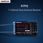 RadioLink R7FG 2.4GHz 7CH Dual Antenna Reciever High Voltage Integrated Gyro