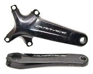 Shimano Dura Ace FC-R9100 2 x 11 Speed Road Bike Crankset 170mm 4 Bolt NO RINGS