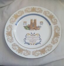 Aynsley commemorative plate.  Queen Elizabeth 2 & Prince Philip 25th anniversary