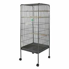 WilTec Aviary Parrot Cockatiel Extra Large Bird Cage - 146x54x54 cm