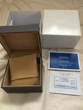 Seiko Solar Watch Box From Japan. Great Pre-owned Condition!