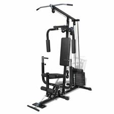 vidaXL Multifunctionele Home Gym Fitnessmachine Hometrainer Trainingstoestel