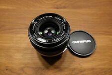 Olympus OM-System ZUIKO AUTO-W 28mm 1:2,8 Japan neuwertig Objektiv