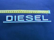 """Mercedes Benz   """"Diesel"""" , Emblem, Schriftzug   :   Vintage, Oldtimer"""