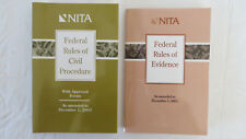 2 Nita Federal Rules of Civil Procedure & Evidence (2003, Paperback)