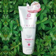 12 Plus Body Lotion Snail Whitening Skin Beauty 150ML