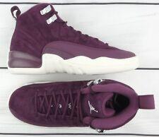 Nike Air Jordan Retro XII 12 Bordeaux White GS 153265-617 Size 3.5 Y
