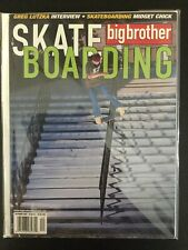 Big Brother Skateboard Magazine December 2003 Greg Lutzka Jackass