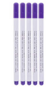 Fabric Marker Pen soluble in either air or water