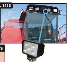 Case IH Combine Cotton Picker LED Side Work Light - Bottom Mount 185118A1 2862