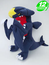 "F&P  Plush New Pokemon Garchomp Carchacrok Knakrack STUFFED TOY Doll 12""high"