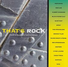 VARIOUS ARTISTS - THAT'S ROCK ENTERTAINMENT (CD, 1996)