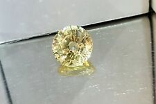 NATURAL YELLOW SAPPHIRE  UNTREATED LOOSE STONES ROUND 8.17CT