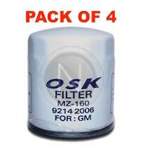 OSAKA Oil Filter Z160 - For Holden Commodore VG VN VP VR VS VT - Box of 4