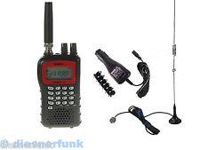 FUNK SCANNER UNIDEN UBC 69 XLT-2 POLIZEIFUNK BOS UBC69 & Mini Scan Antenne & KFZ