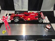 1:18 Hotwheels #M0551 Kimi Raikkonen Ferrari F2007 World Champion Brazil 2007