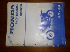 Honda 83-84 CR60R CR 60 Service Shop Repair Manual
