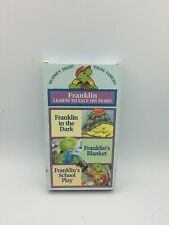 Franklin Learns To Face His Fears - 3 Stories +Fun Coloring Activity- VHS (1997)