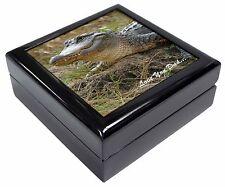 AR-C1JW Crocodile Print Girls//Ladies Denim Purse Wallet Christmas Gift Idea
