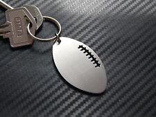 AMERICAN FOOTBALL NFL Gridiron Team Field Keyring Keychain Bespoke Steel Gift