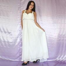 Oscilante Tul Vestido de Novia XL 52 Estilo Campana Baile Maxi
