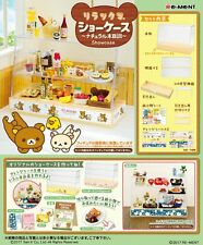 Re-Ment Miniature Sanrio Rilakkuma Display Cabinet Fridge Showcase Set