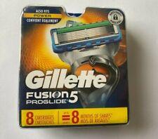 Gillette Fusion 5 Proglide 8 Cartridges New Open Box