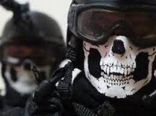Biker Black Seamless Skull Face Tube Mask  COD GHOST Cold Gear Balaclava