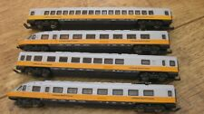 LIMA N GAUGE LUFTHANSA AIRPORT EXPRESS 4 CAR SET
