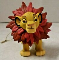 Disney's Simba Wearing a Christmas Wreath Christmas Ornament By Groiler