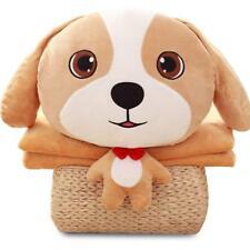 NAS AOSTAR 2 in 1 Throw Pillow and Blanket Plush Stuffed Animal Toys