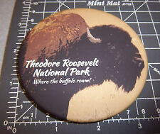 Teddy Roosevelt National Park - North Dakota collectors Magnet, buffalo roam...