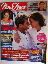 Photoromans NOUS DEUX 19/08/2003; Interview David Hallyday/ Stéphanie de Monaco