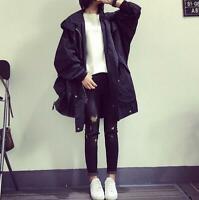 Korean Style Women Hooded Jacket Spring Loose Sun Protection Clothing Coat 2019