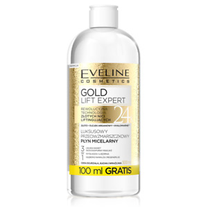Eveline Gold Lift Expert Anti Wrinkle Micellar Water Mature Sensitive Skin 500ml