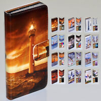 For OPPO Series - Lighthouse Tower Theme Print Wallet Mobile Phone Case Cover #1
