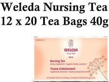 12 x 20 bags WELEDA Nursing Tea ( supports healthy lactation ) total 240 bags