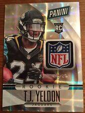 2015 Panini National NFL Shield RC TJ Yeldon Jaguars Alabama 1/1 One Of One