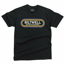 Biltwell Rock n Roll Cotton Casual T-Shirt - Black