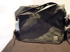 NEW BILLABONG SEIZURE SHOULDER SATCHEL BAG VINTAGE BROWN WITH BLACK EMBLEM