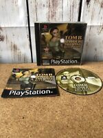 Tomb Raider The Last Revelation - PS1 - Very Good Condition COMPLETE PAL UK