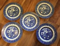 Lovely Set Of 5 Alfred Meakin 23Cm Plates