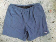 "Patagonia Men's Baggies Nylon Shorts Mesh Lined XL BlUE 6"" Inch"