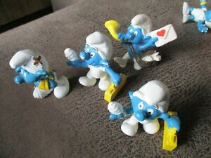Les Schtroumpfs-Lot figurines Peyo,Schleich-1978-