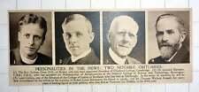 1920 Rev Sydney Cave Bristol Leonard Bairstow Aerodynamic Thomas Wallace Russell