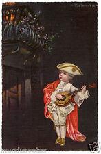 ILLUSTRATEUR COLOMBO.enfant.mandoline.child.mandolin.