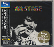 Elvis Presley Japan LTD  SHM CD ON STAGE  Japanese