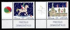 Weihnachten. Wichtelmädchen. 2W. Eckrand(3). Lettland 2013