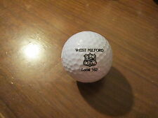 Logo Golf Ball-West Milford N.J. State P.B.A. Local 162 Union.