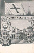 A3861) CROCE ROSSA, OSPEDALE MILITARE DI MILANO.